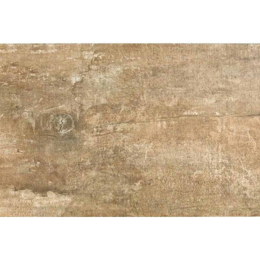 Emser RANCH 2-Pack Lodge Wood Look Porcelain Floor and Wall Tile (Common: 24-in x 36-in; Actual: 23.62-in x 35.43-in)