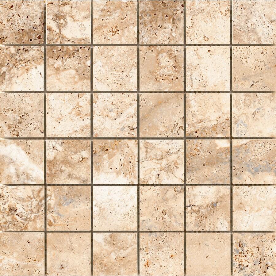 Emser Cabo Coast Ceramic Border Tile (Common: 13-in x 13-in; Actual: 13-in x 13-in)