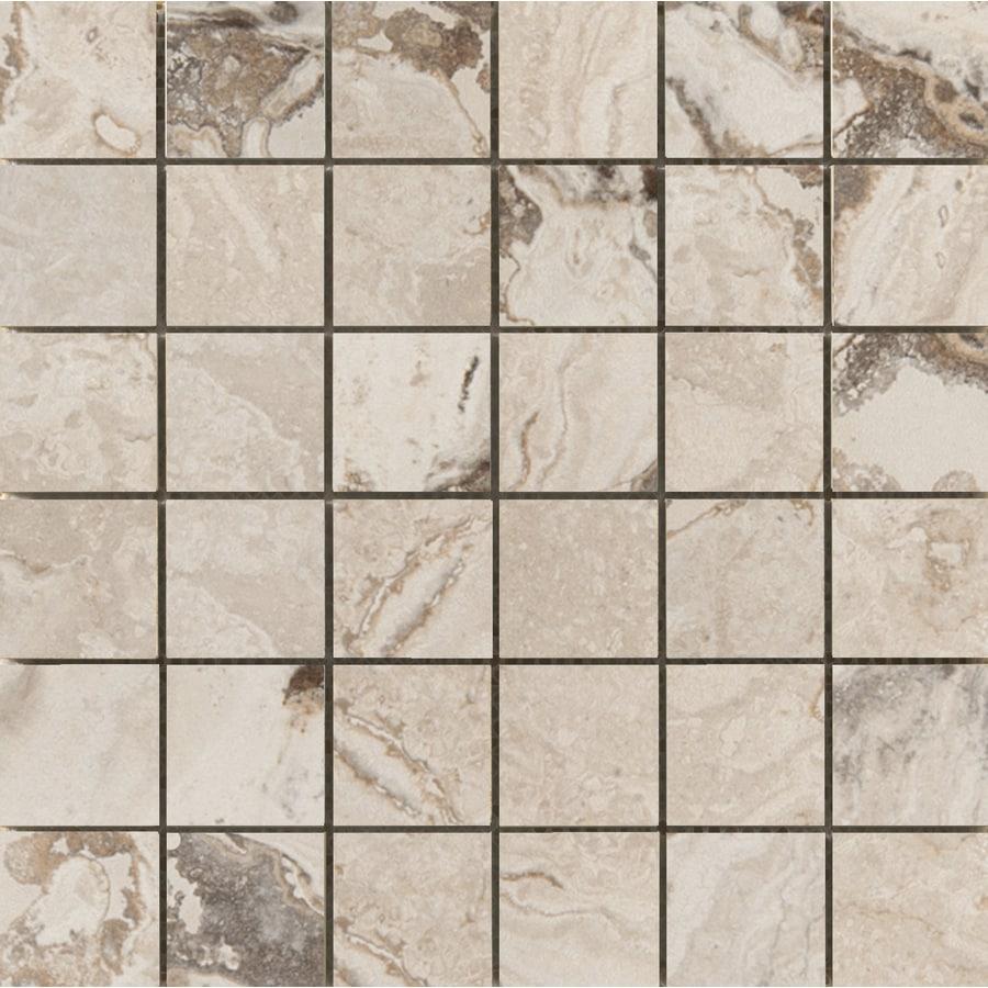 Emser Pergamo Naturale Porcelain Border Tile (Common: 13-in x 13-in; Actual: 13.02-in x 13.02-in)
