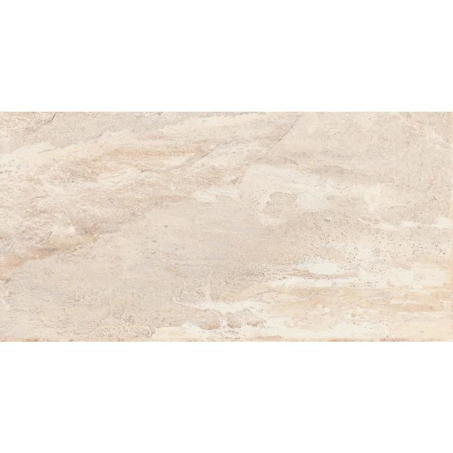 Emser -MileTONE 6-Pack Dust Porcelain Floor and Wall Tile (Common: 12-in x 24-in; Actual: 11.81-in x 23.62-in)