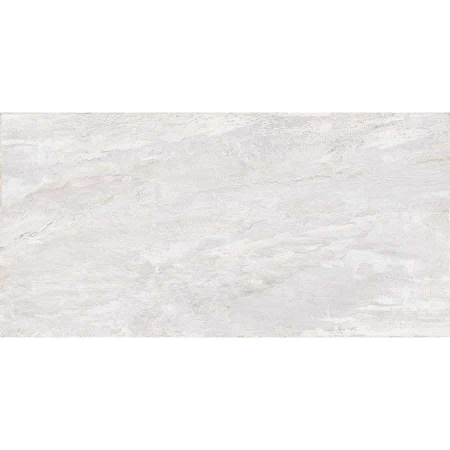 Shop Emser Pack WHITE Porcelain Floor And Wall Tile Common In - 6 x 12 white porcelain tile