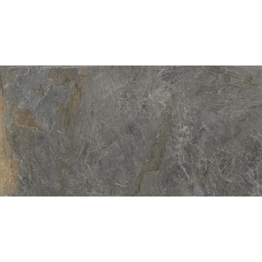 Emser -MileTONE 2-Pack Gray Porcelain Floor and Wall Tile (Common: 24-in x 48-in; Actual: 23.62-in x 47.24-in)
