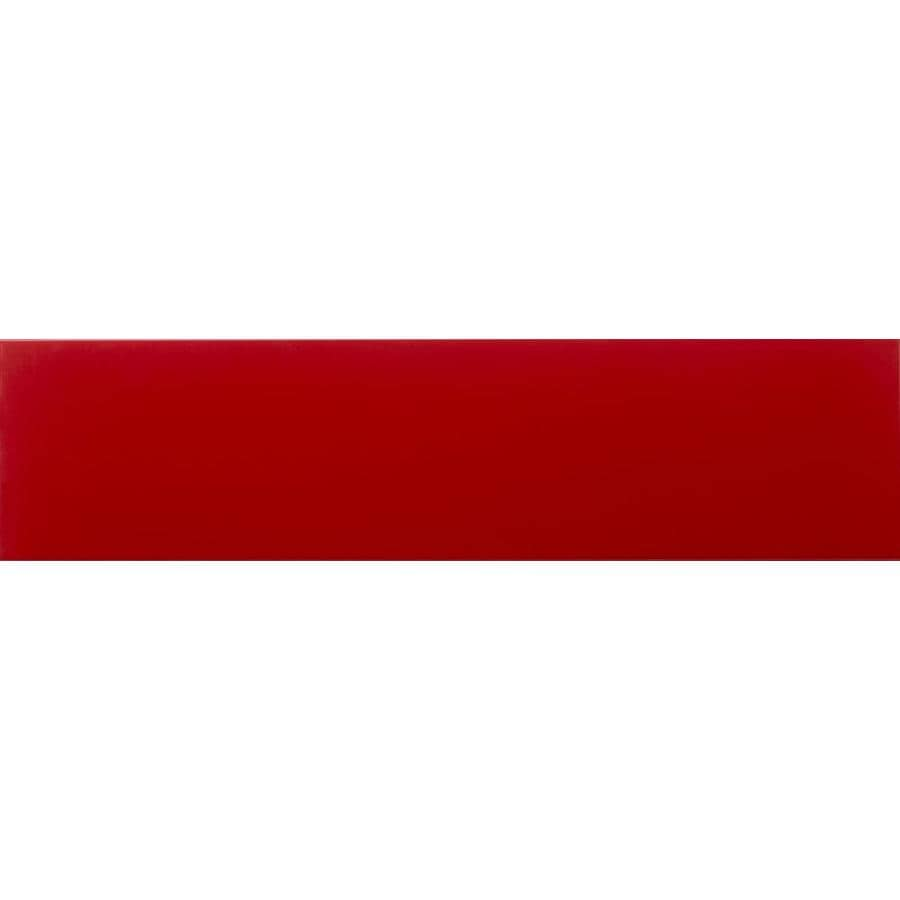 Shop emser choice 25 pack red ceramic subway tile common 4 in x emser choice 25 pack red ceramic subway tile common 4 in x dailygadgetfo Gallery