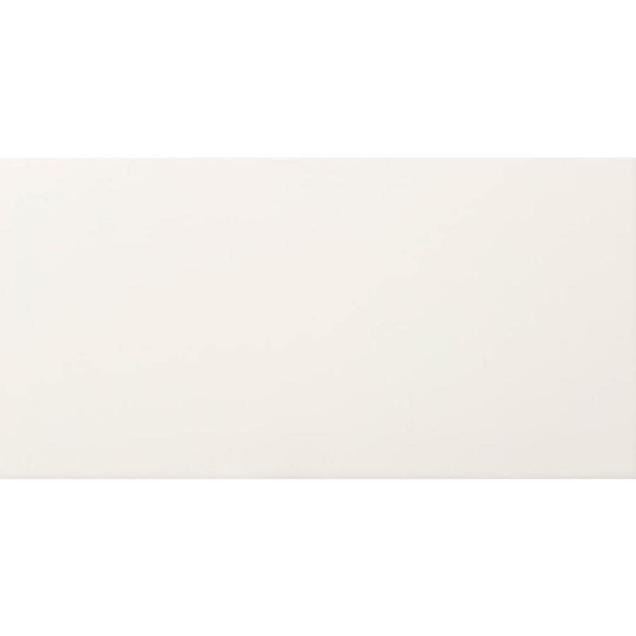 Emser CHOICE 8-Pack Bone Ceramic Wall Tile (Common: 12-in x 24-in; Actual: 11.81-in x 23.62-in)