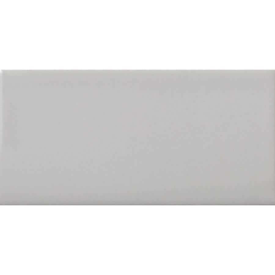 Emser CHOICE 8-Pack Gray Ceramic Wall Tile (Common: 12-in x 24-in; Actual: 11.81-in x 23.62-in)