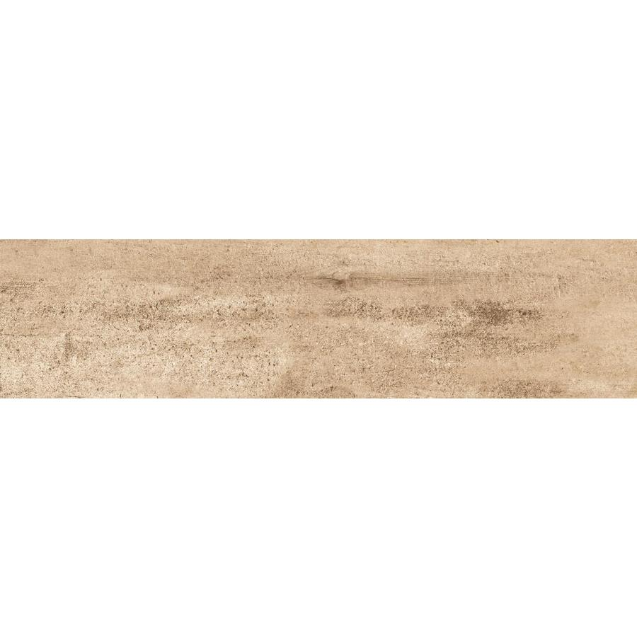 Emser EXPLORER 9-Pack Barcelona Wood Look Porcelain Floor and Wall Tile (Common: 6-in x 36-in; Actual: 5.91-in x 35.43-in)