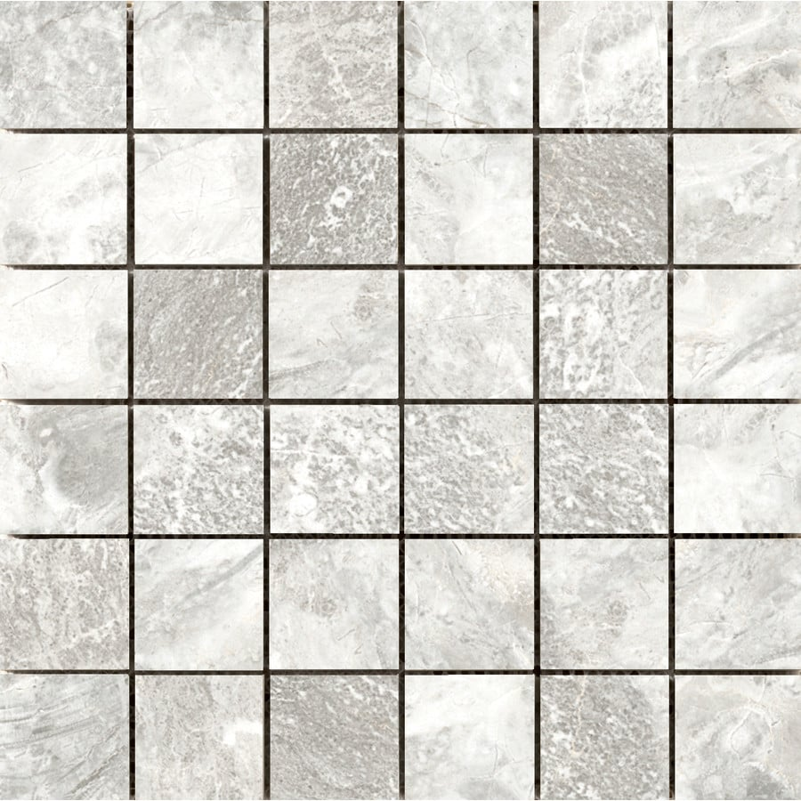 Emser Vienna Brahmms Porcelain Border Tile (Common: 13-in x 13-in; Actual: 13.07-in x 13.07-in)