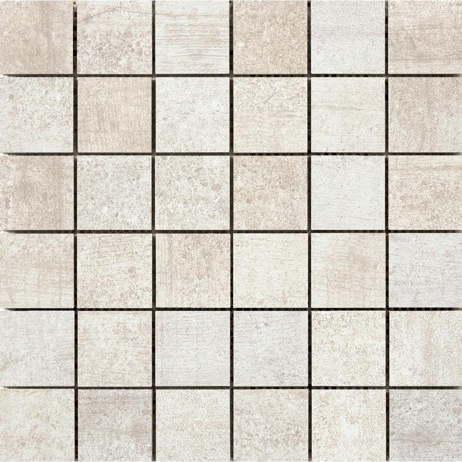Emser Formwork Link Porcelain Border Tile (Common: 12-in x 12-in; Actual: 11.79-in x 11.79-in)