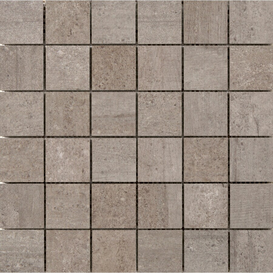 Emser Formwork Union Porcelain Border Tile (Common: 12-in x 12-in; Actual: 11.79-in x 11.79-in)