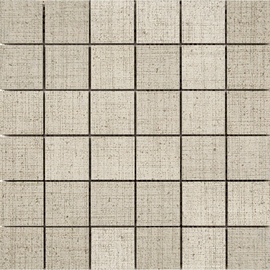 Emser Canvas Khaki Porcelain Border Tile (Common: 12-in x 12-in; Actual: 11.81-in x 11.81-in)
