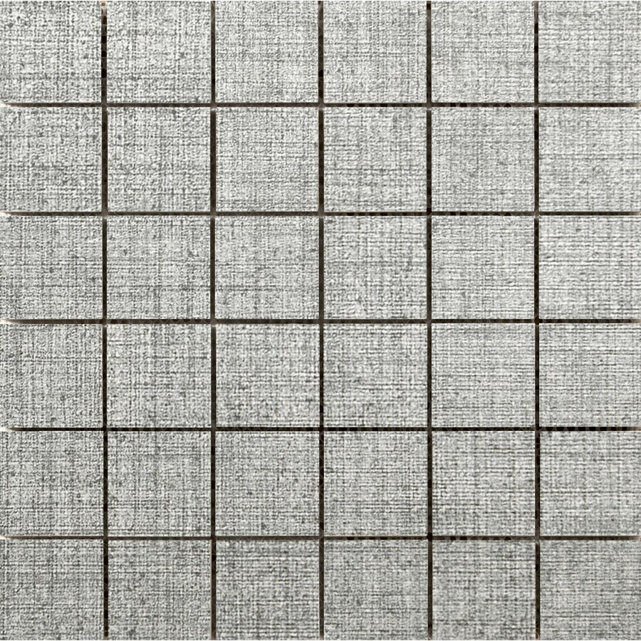 Emser Canvas Tweed Porcelain Border Tile (Common: 12-in x 12-in; Actual: 11.81-in x 11.81-in)
