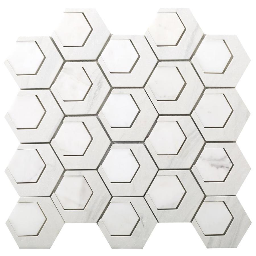 Emser Catalyst 10-Pack Hydrogen Concrete Border Tile (Common: 13-in