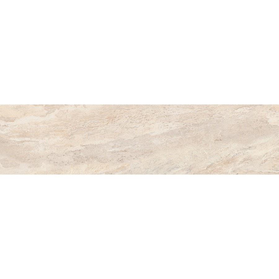 Emser MileTONE Dust Porcelain Bullnose Tile (Common: 3-in x 12-in; Actual: 3-in x 12-in)