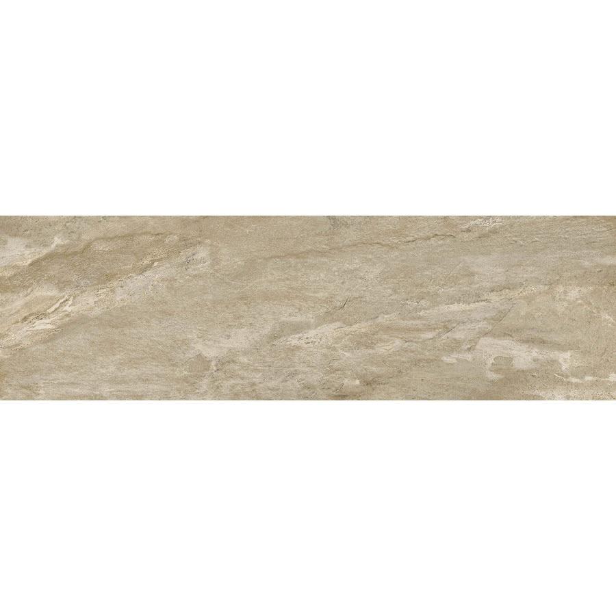 Emser MileTONE Taupe Porcelain Bullnose Tile (Common: 3-in x 12-in; Actual: 3-in x 12-in)