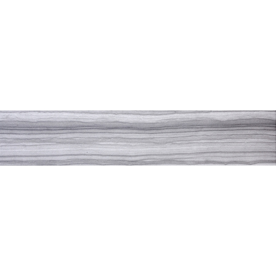 Emser Archive Record Porcelain Bullnose Tile (Common: 3-in x 24-in; Actual: 23-in x 3-in)