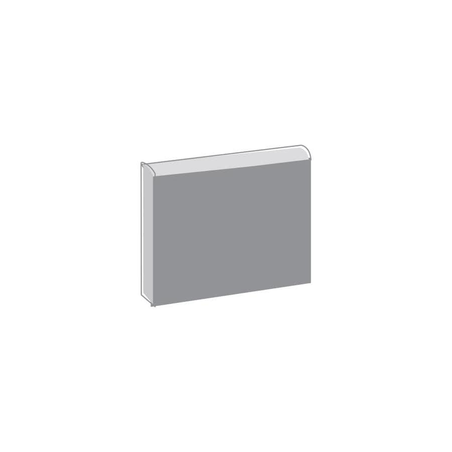 Emser Choice Bone Ceramic Bullnose Corner Tile (Common: 2-in x 2-in; Actual: 2-in x 2-in)