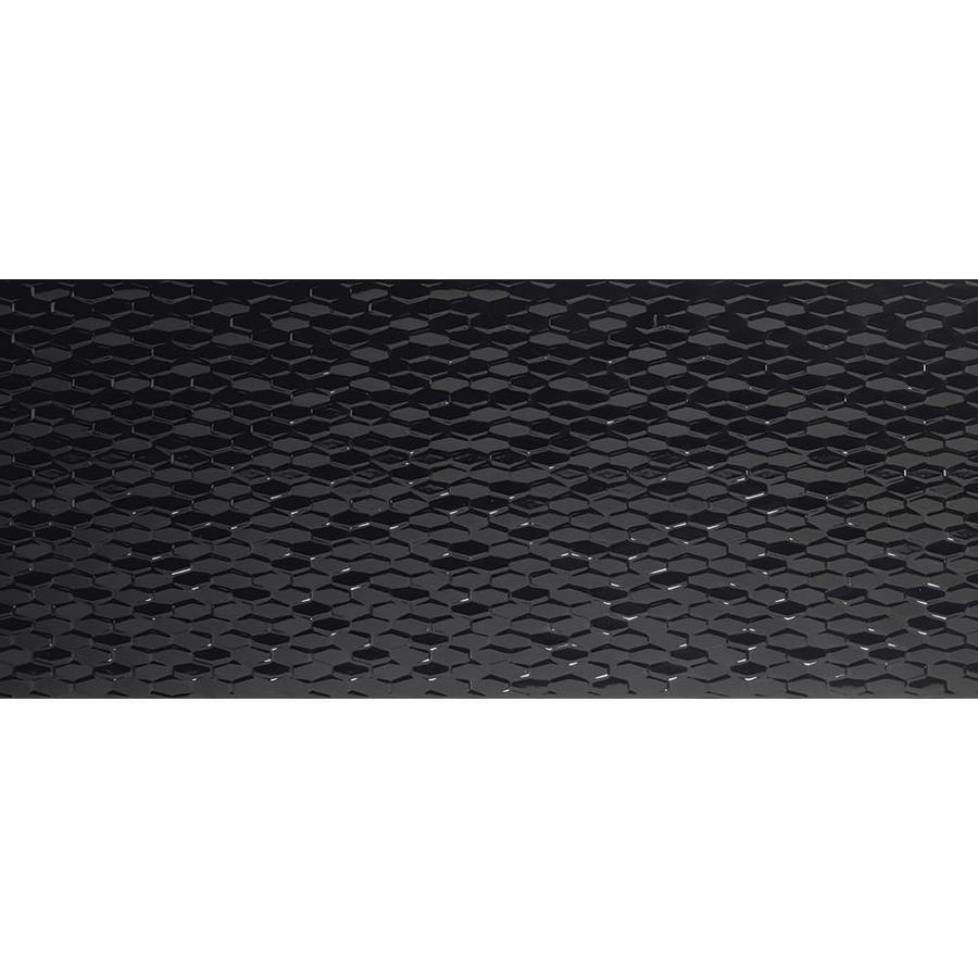Emser Artwork 4 Pack Black Ceramic Wall Tile Common 18