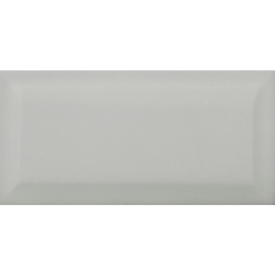 Emser CHOICE 136-Pack Gray Ceramic Wall Tile (Common: 3-in x 6-in; Actual: 2.95-in x 5.91-in)