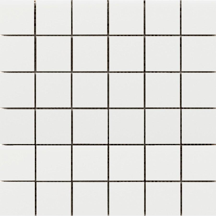Emser Choice White Ceramic Border Tile (Common: 12-in x 12-in; Actual: 12.05-in x 12.05-in)