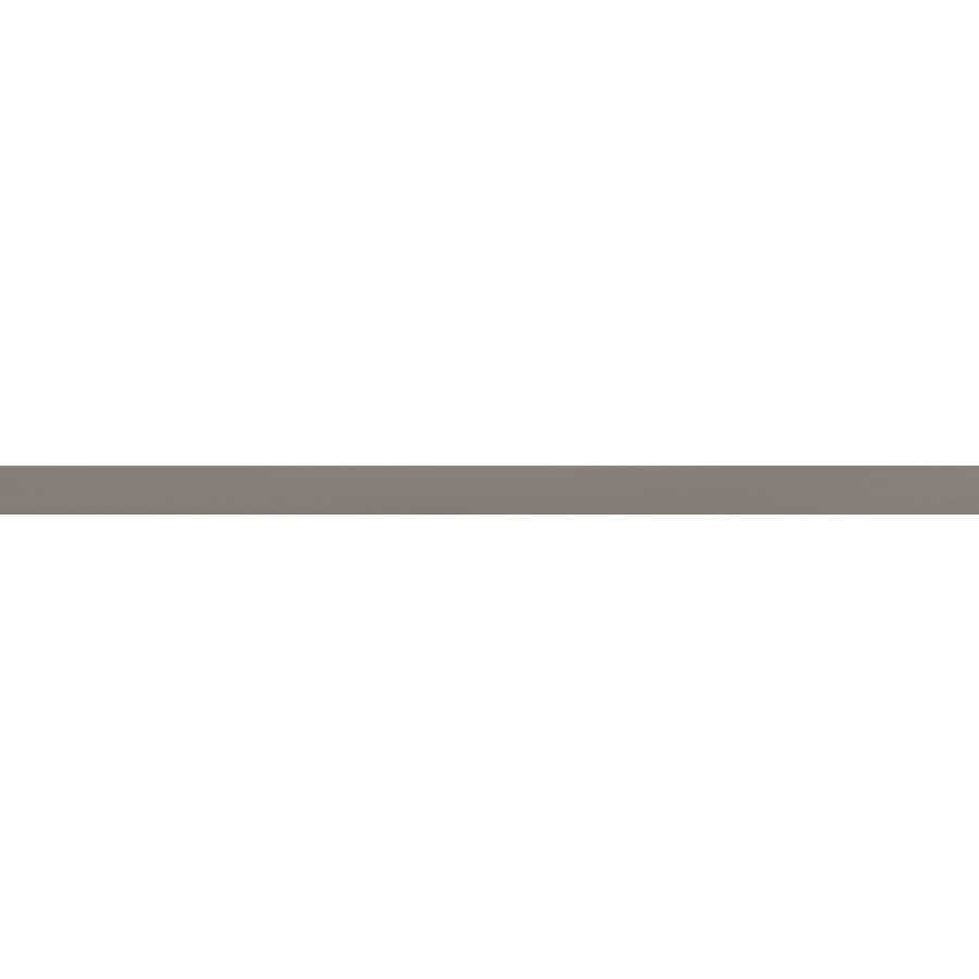 Emser CHOICE 80-Pack Taupe Ceramic Pencil Liner Tile (Common: 1/2-in x 12-in; Actual: 0.49-in x 15.55-in)