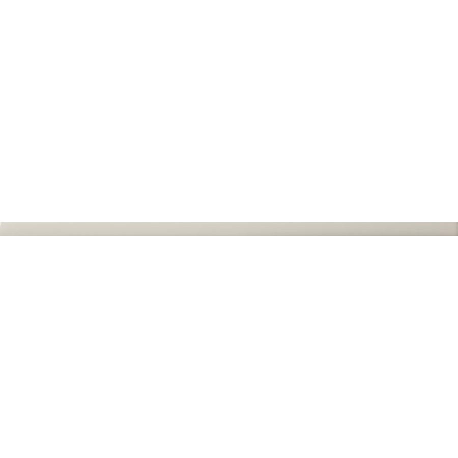 Emser CHOICE 80-Pack Fawn Ceramic Pencil Liner Tile (Common: 1/2-in x 12-in; Actual: 0.49-in x 15.55-in)