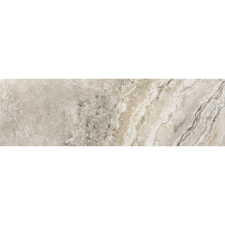 Emser Gateway Noce Porcelain Bullnose Tile (Common: 3-in x 13-in; Actual: 13-in x 3-in)