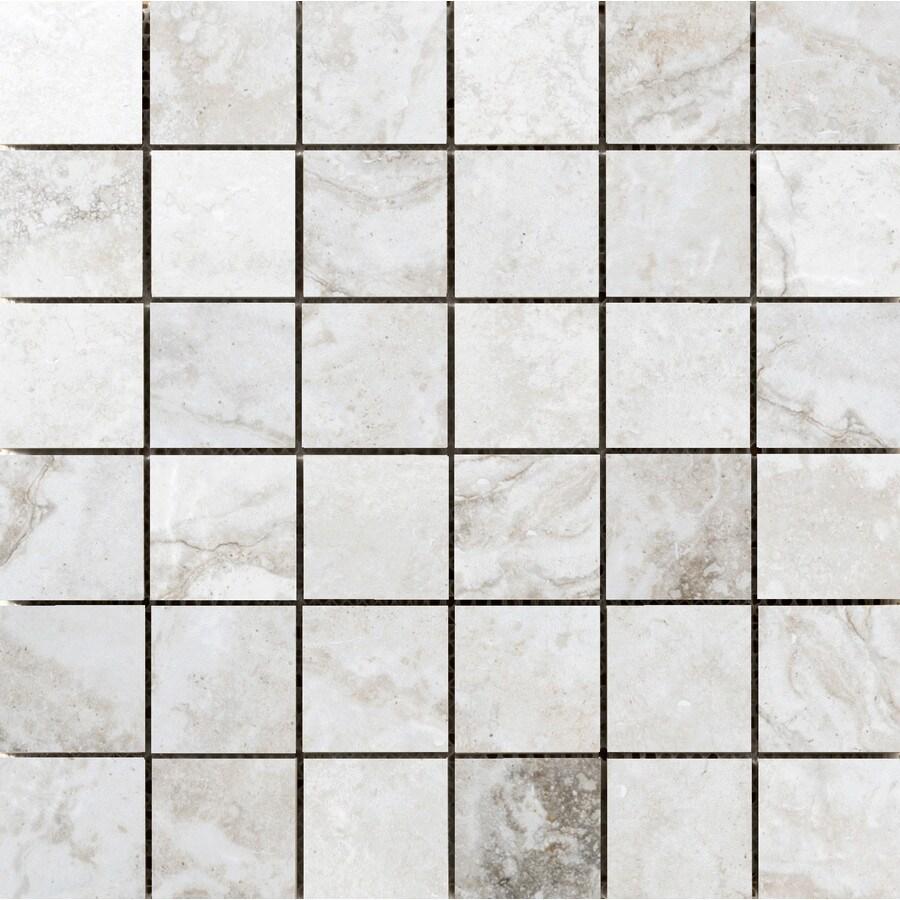 Emser GATEWAY Avorio Porcelain Border Tile (Common: 13-in x 13-in; Actual: 3-in x 13-in)