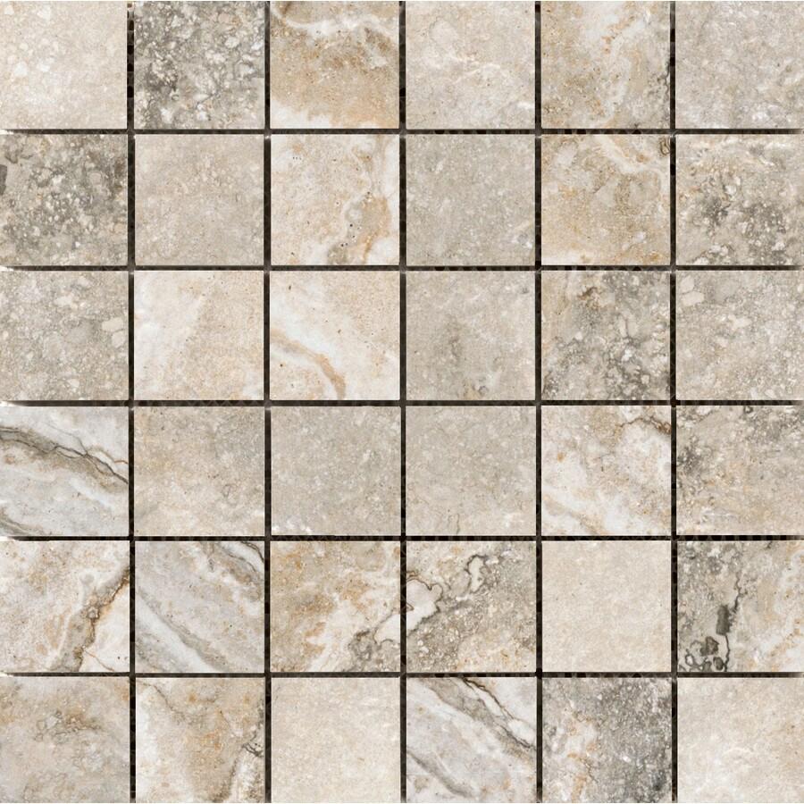 Emser Gateway Noce Porcelain Border Tile (Common: 13-in x 13-in; Actual: 12.99-in x 12.99-in)
