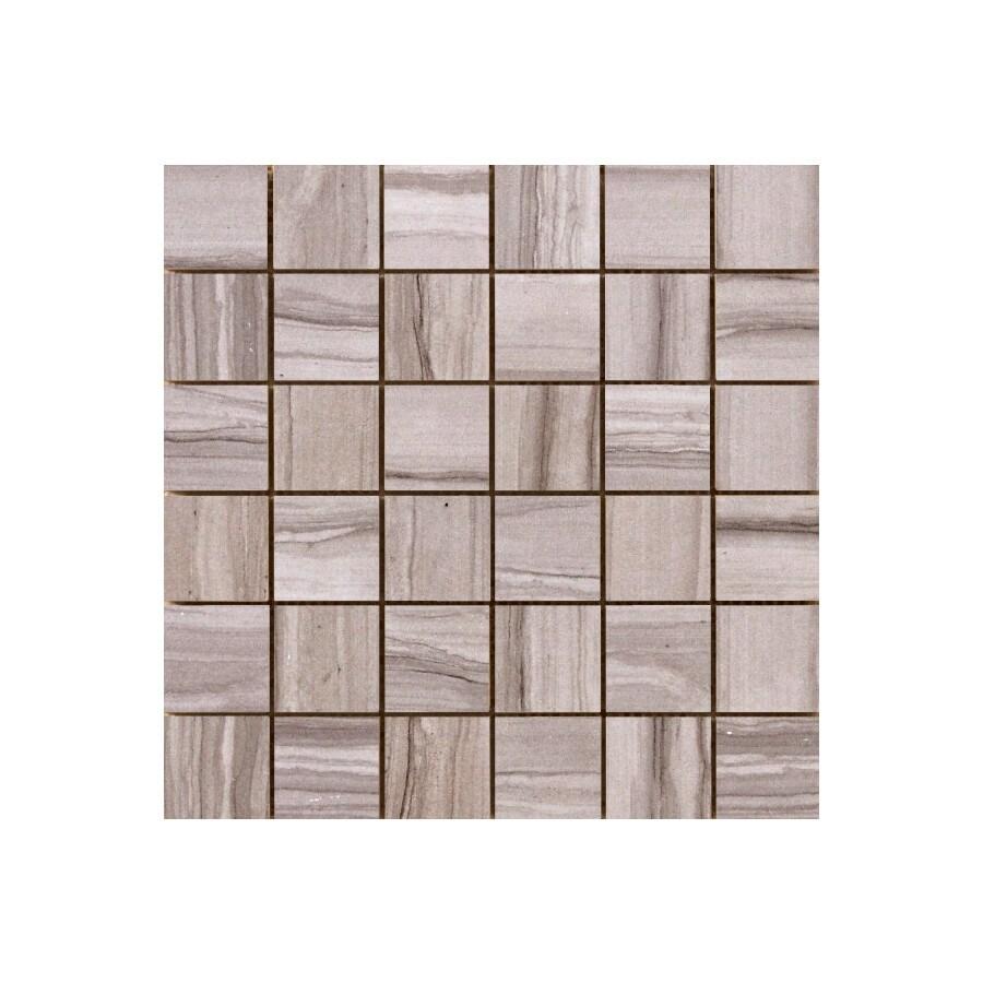 Emser Archive Script Porcelain Border Tile (Common: 12-in x 12-in; Actual: 12-in x 12-in)