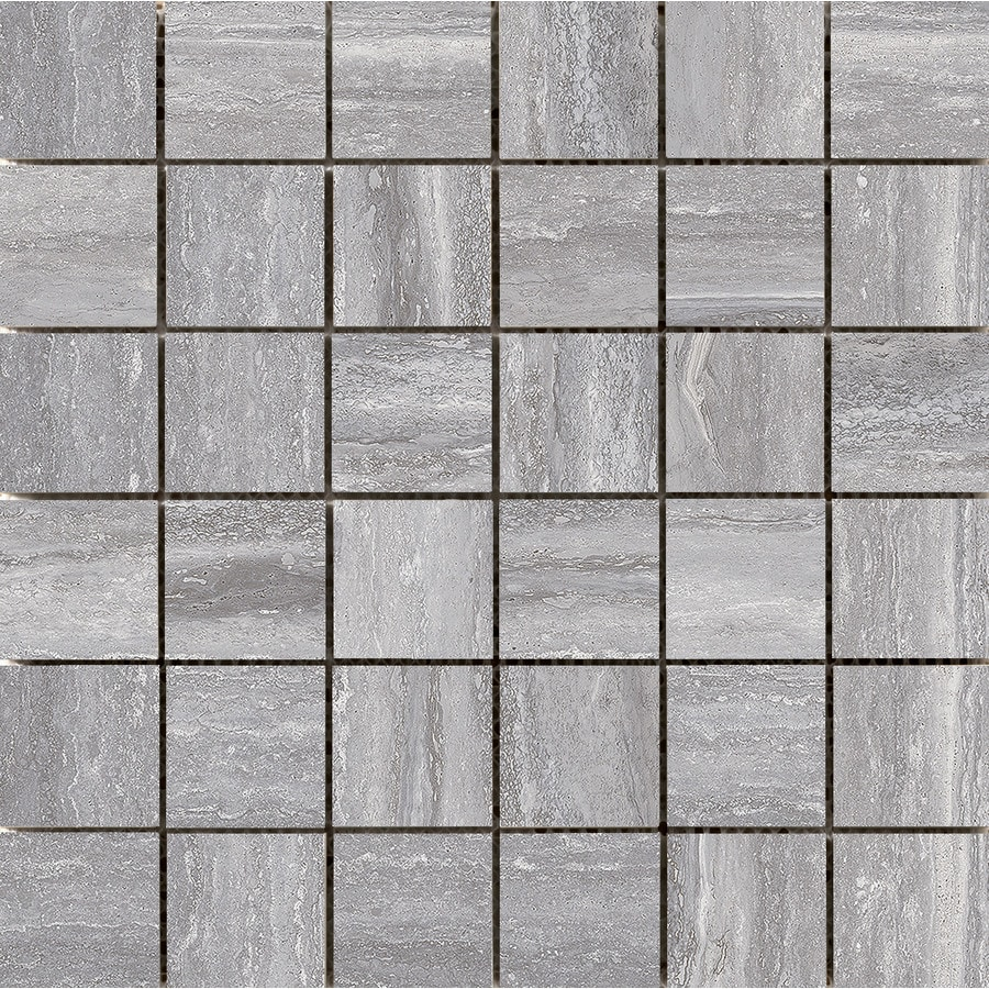 Emser Esplanade Trail Porcelain Border Tile (Common: 12-in x 12-in; Actual: 11.81-in x 11.81-in)