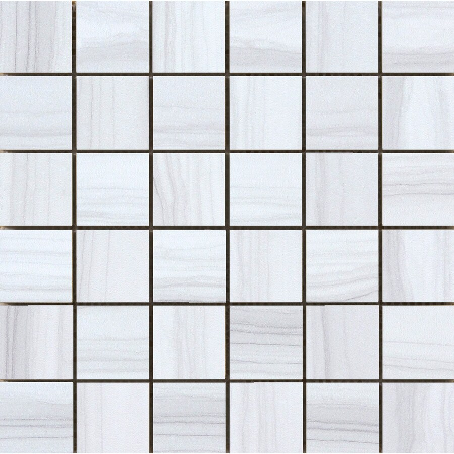 Emser Chronicle Era Porcelain Border Tile (Common: 12-in x 12-in; Actual: 11.69-in x 11.69-in)