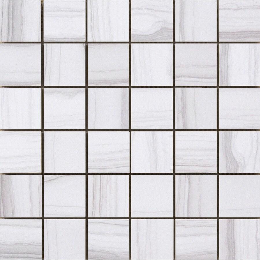 Emser Chronicle Memoir Porcelain Border Tile (Common: 12-in x 12-in; Actual: 11.69-in x 11.69-in)