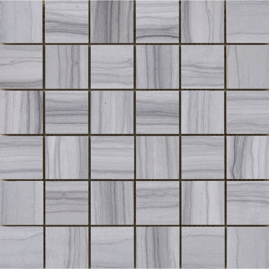 Emser Chronicle Record Porcelain Border Tile (Common: 12-in x 12-in; Actual: 11.69-in x 11.69-in)