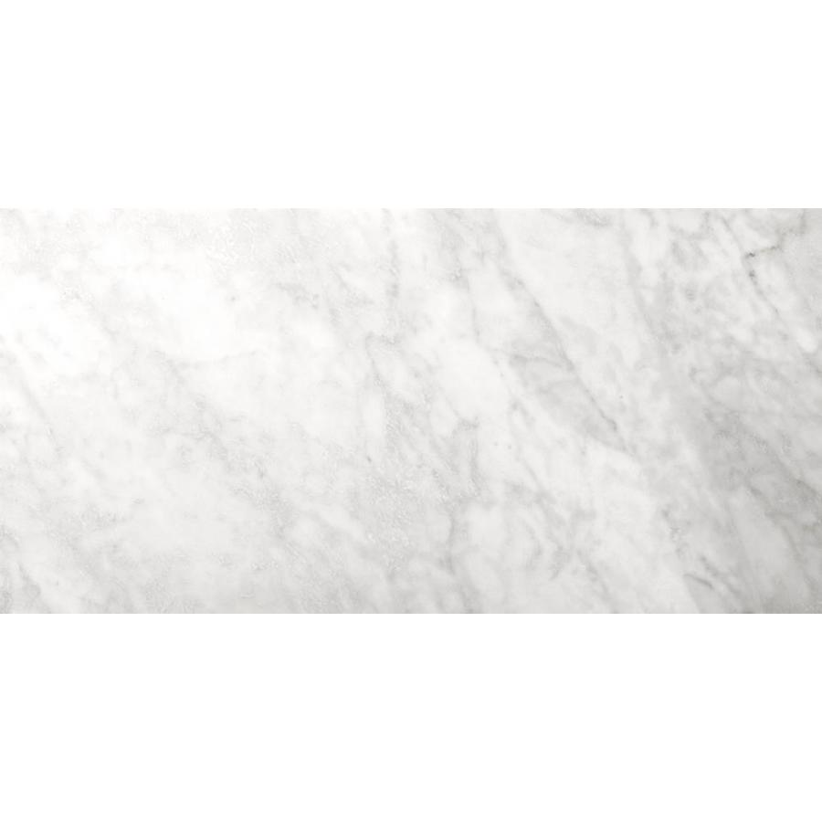 Emser BIANCO GIOIA 6-Pack Bianco Gioia Nantes  Marble Floor and Wall Tile (Common: 12-in x 24-in; Actual: 24-in x 12-in)