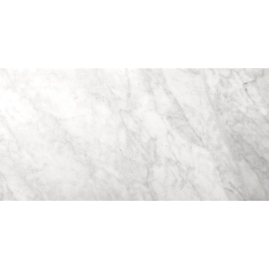 Emser BIANCO GIOIA 6-Pack Bianco Gioia Nantes Marble Floor and Wall Tile (Common: 12-in x 24-in; Actual: 12-in x 24-in)