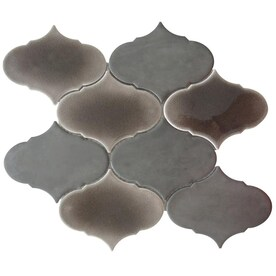 Arabesque Accent Trim Tile At Lowes