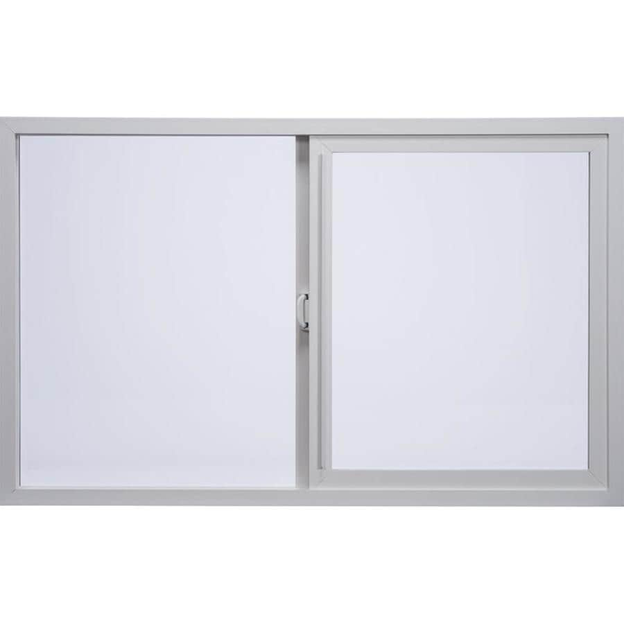Shop milgard style line left operable vinyl double pane for Milgard fiberglass windows reviews