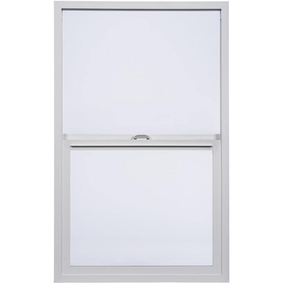 Milgard StyleLine Vinyl Double Pane Single Strength Single Hung Window (Rough Opening: 24-in x 48-in; Actual: 23.5-in x 47.5-in)
