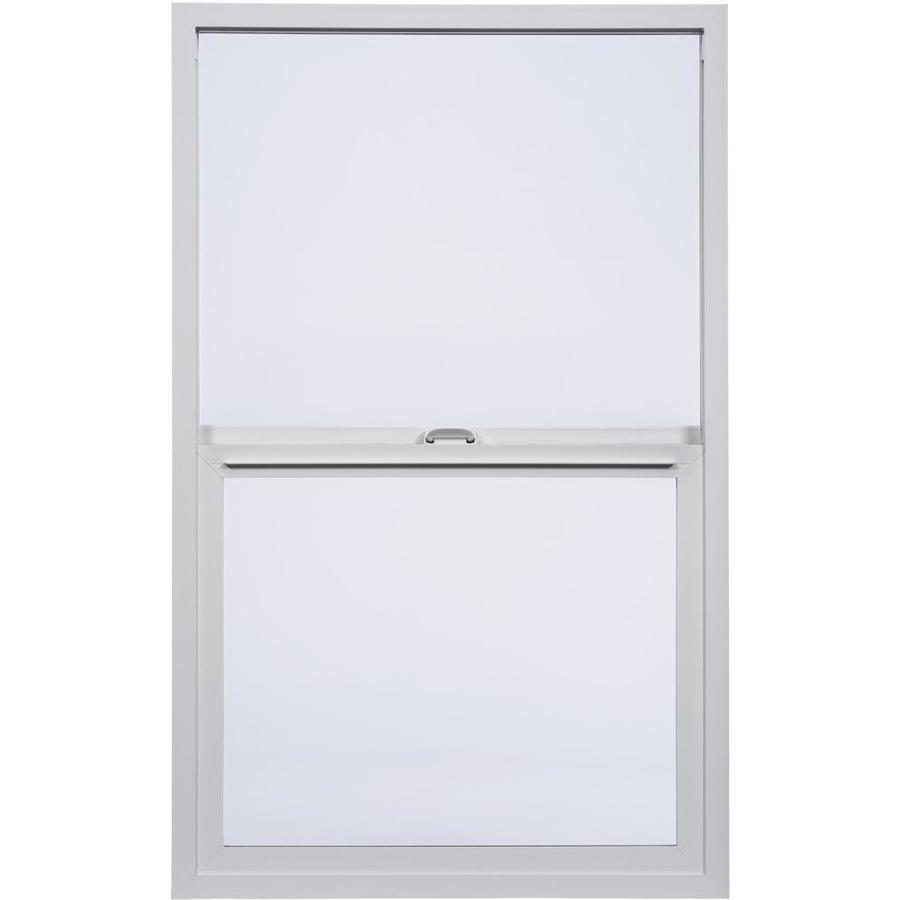 Milgard Styleline Vinyl Double Pane Single Strength Single Hung Window (Rough Opening: 36-in x 48-in; Actual: 35.5-in x 47.5-in)