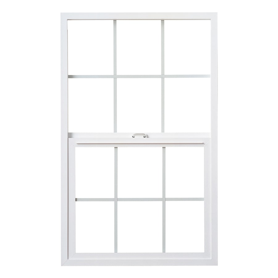 Milgard StyleLine Vinyl Double Pane Single Strength Egress Single Hung Window (Rough Opening: 48-in x 60-in; Actual: 47.5-in x 59.5-in)