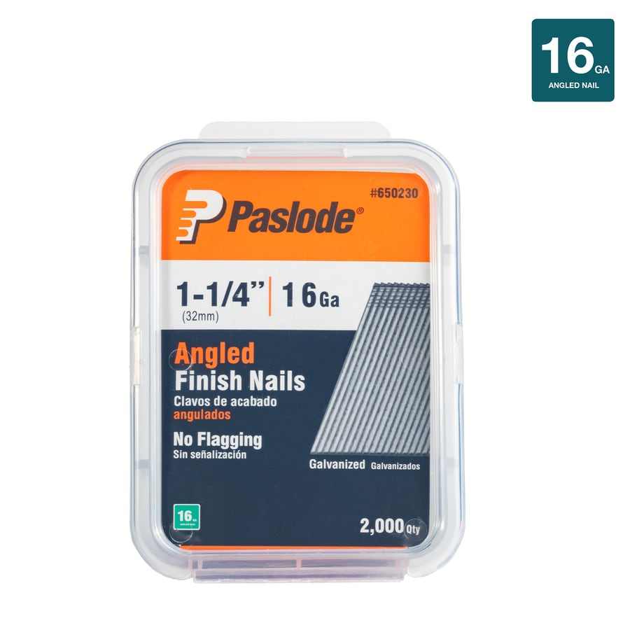 Paslode 2,000-Count 1.25-in Finishing Pneumatic Nails