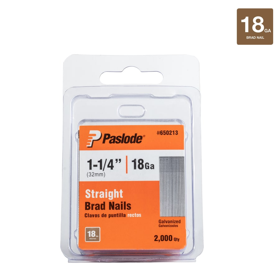 Paslode 2000-Count 1.25-in Finishing Pneumatic Nails