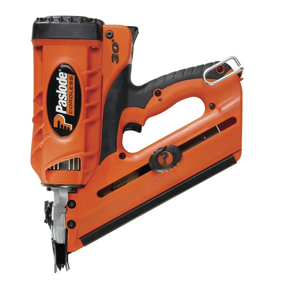 Paslode 6 Volt Cordless Framing Nailer At Lowes Com