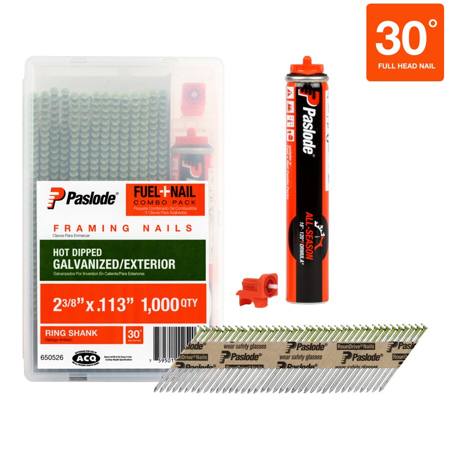 Paslode 1,000-Count 2.375-in Framing Pneumatic Nails