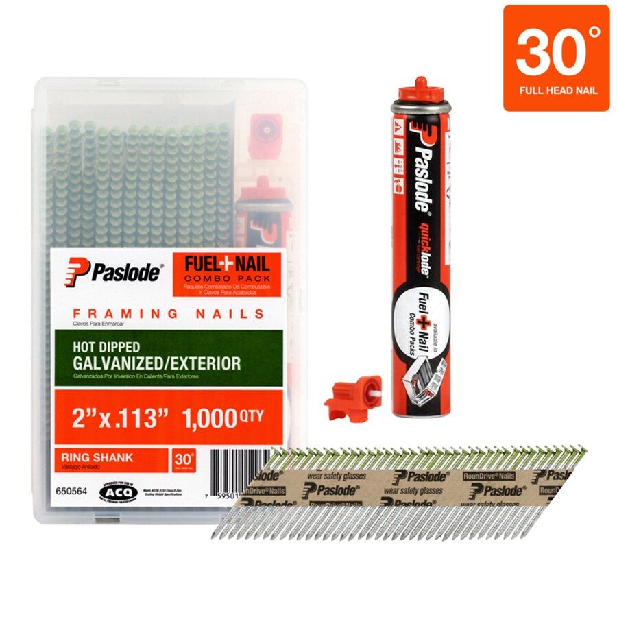 Paslode 1000-Count-Count 2-in Framing Pneumatic Nails