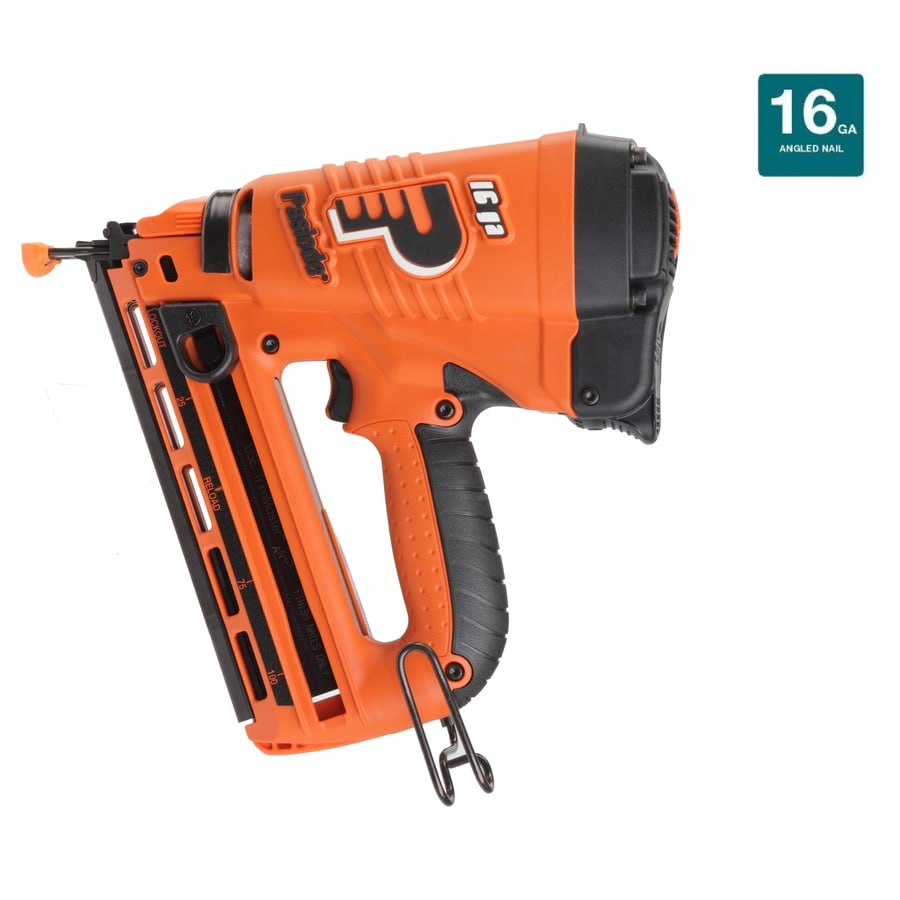 Paslode Angled 16-Gauge 7.5-Volt Finishing Cordless Nailer with Battery