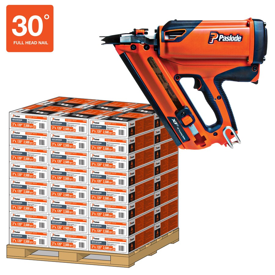 Paslode 2500-Count-Count 3.25-in Framing Pneumatic Nails