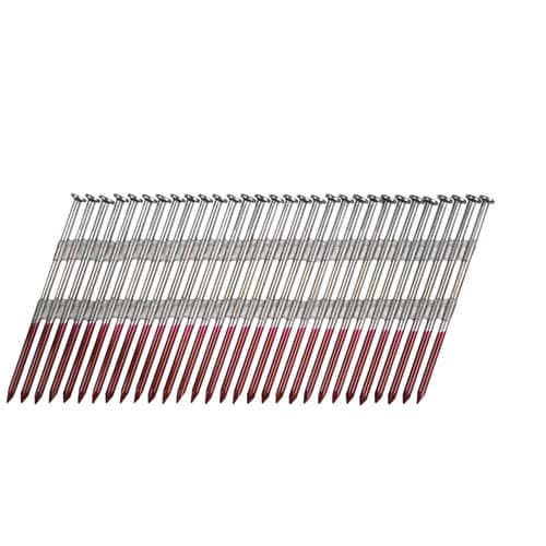 "3"" X .120 Round Head Strip Nails 2,500 Count Duo-Fast SL 301 #1015209"