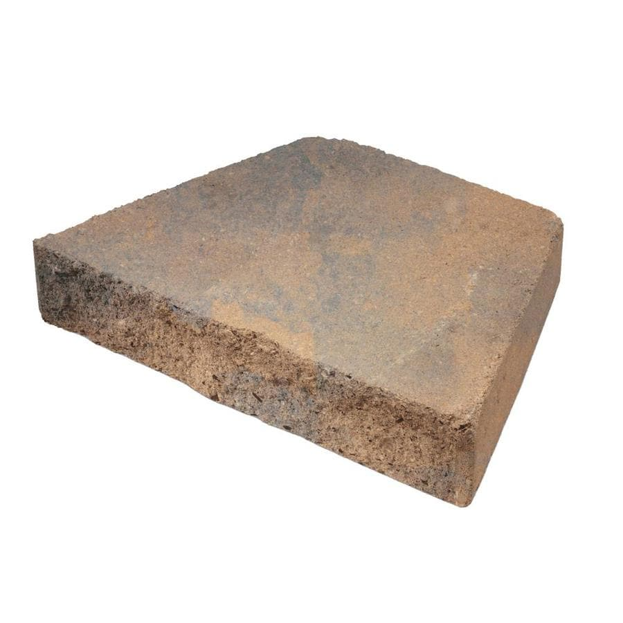 Sand Retaining Wall Cap (Common: 8-in x 12-in; Actual: 8.3-in x 12-in)
