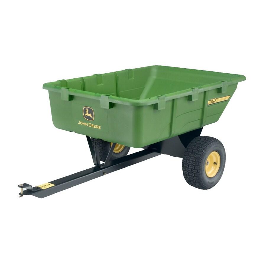 John Deere 10 Cu. Ft. Plastic Dump Cart